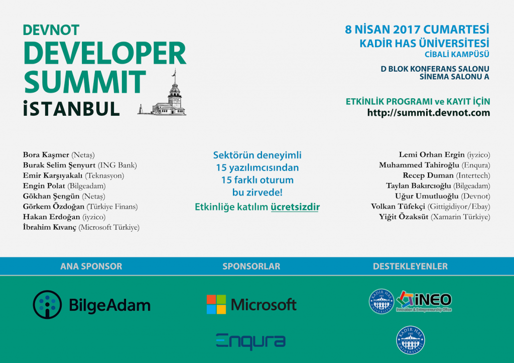 Developer Summit 2017