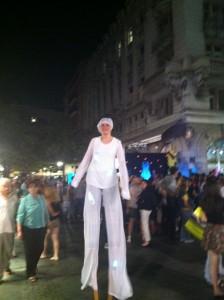 Knez Mihailova'da akşam