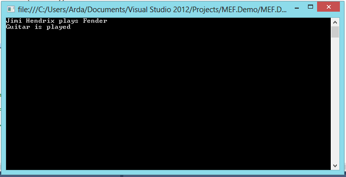 MEF_demo