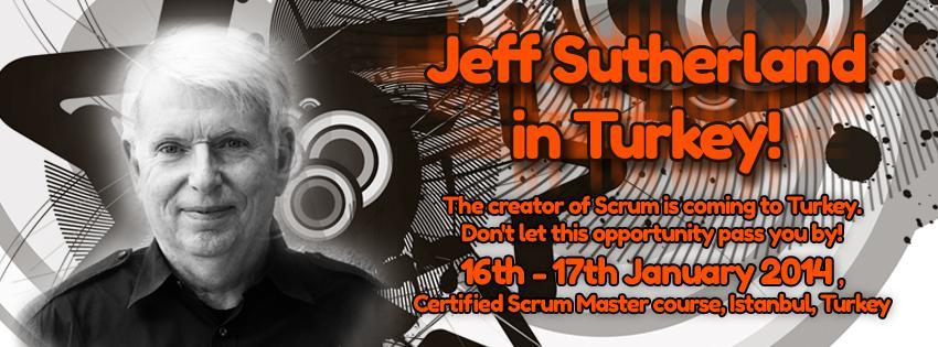 Jeff Sutherland İstanbul'da...